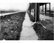 East sidewalk of Gravesend Ave looking south from Avenue S -  1922