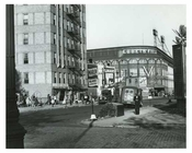 Ebbets Field view from side street before Demolition - Brooklyn NY