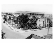 Ebbets Field view from the rooftop in the neighborhood - Flatbush - Brooklyn NY