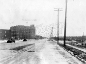 Eighty-sixth Street looking southeast from Avenue U, 1930