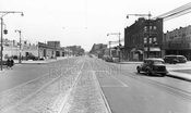 Empire Boulevard, looking east to Bedford Avenue, 1944