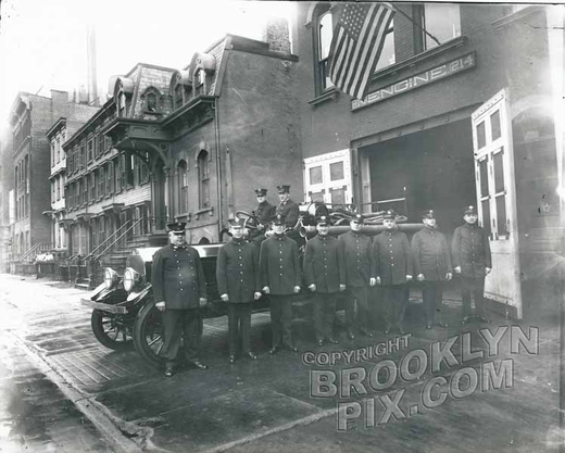 Engine Co. 214 FDNY, 231 Herkimer Street between New York and Brooklyn Avenues, c.1925