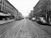 Fifth Avenue, northeast from St. Marks Avenue to Bergen Street, 1948
