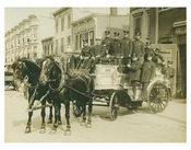Fire Brigade with Horse Cart