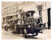 Firemen with Truck