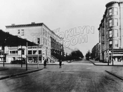 First Street southeast to Seventh Avenue in 1922, route of the Contintental Retreat during the Battle of Brooklyn, Aug. 1776