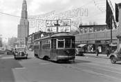 Flatbush Avenue looking north from 6th Avenue, 1948