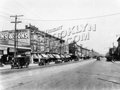 Flatbush Avenue looking north from East 29th Street to Glenwood Road, 1927
