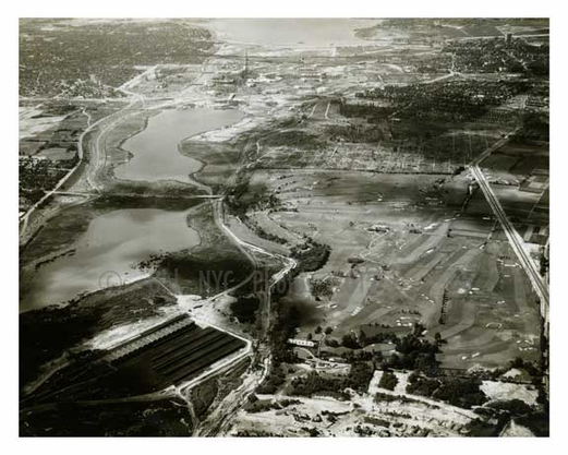 Flushing Meadow Park - Willow Lake to Flushing Bay 1930s - Queens - NYC