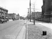 Fort Hamilton Parkway looking east to East 3rd Street
