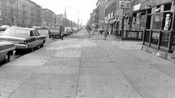 Fourth Avenue looking northeast to 58th Street, 1968