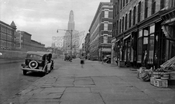 Fourth Avenue looking northeast to Douglass Street, 1940
