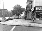 Fourth Avenue looking southwest from 47th Street, 1968