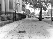 Fourth Avenue looking southwest to 53rd Street, 1968