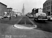 Fourth Avenue northeast from Butler Street, 1959
