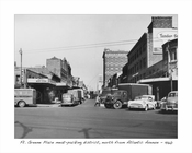 Ft. Greene Place meat packing district, north from Atlantic Ave - 1960