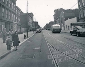 Gates Avenue east from Nostrand Avenue, 1946