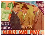Girls Can Play - Columbia Pictures - Vintage Posters
