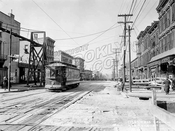 Graham Avenue north from Metropolitan Avenue, 1919