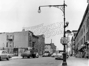 Grand Avenue north from Prospect Place, 1960