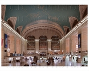 Grand Central Station with constellations ceiling 2007