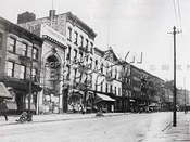 Grand Street, between Berry and Bedford, 1922 Williamsburg Brooklyn NY