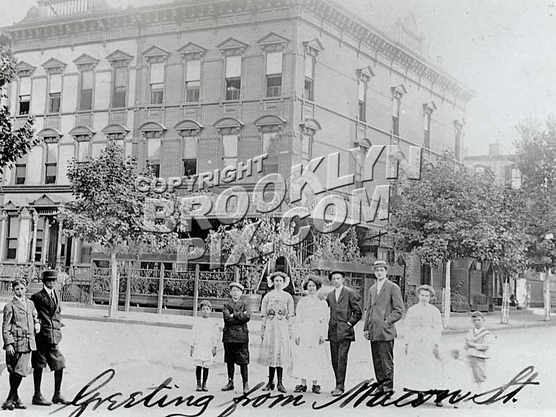 Greeting from Macon Street, 1911