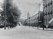 Halsey Street looking south from Wilson Avenue, 1908