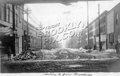 Halsey Street north from Broadway, 1906