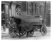 Horse & Wagon on Manhattan Ave - Williamsburg - Brooklyn, NY  1918