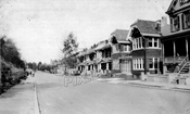 Houses along Sunnyside Avenue, 1922