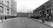 Howard Place between Windsor Place and Prospect Avenue showing Parochial School, 1928