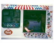 Ice Cream Truck at Coney Island 1970's