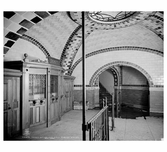 Inside City Hall Ticket Station 1904