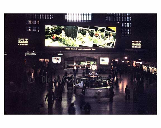 Inside Grand Central Station 1960s Midtown Manhattan