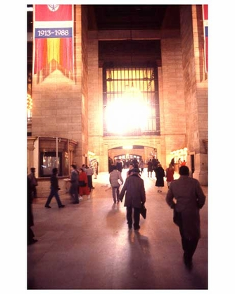 Inside of Grand Central Station 1988
