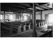 inside of the Society of Friends Meetinghouse, Northern Blvd. Flushing Queens NY