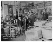 Inside the Franzese Grocery Store 501 Humbolt Greenpoint Brooklyn, NY 1930s