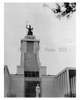 Italian Pavillion at the 1939 Worlds Fair - Flushing - Queens - NYC