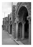 Jacob Riis Park - perspective view of the central north fa�ade entrance arches