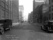 Jay Street looking north to Water Street, 1930