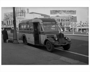 Jersey City Bus -Stanley Theater 1948 NJ