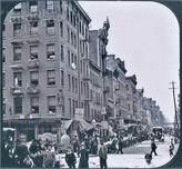 Jewish ghetto in the Lower East Side, 1895