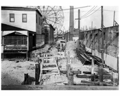 Jones Walk from the boardwalk to Surf Ave 1922