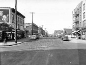 Kings Highway west from West 7th Street, 1946