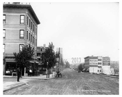 Kingsbridge Road (now called West 225th Street in the Marble Hill) & Ship Canal  Bronx, NY 1903
