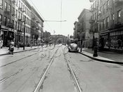 Lee Avenue looking south at Lynch Street, 8-3-1944