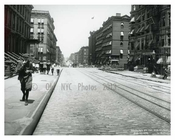 Lexington Avenue between 94th & 95th Streets - Upper East Side -  Manhattan NYC 1913