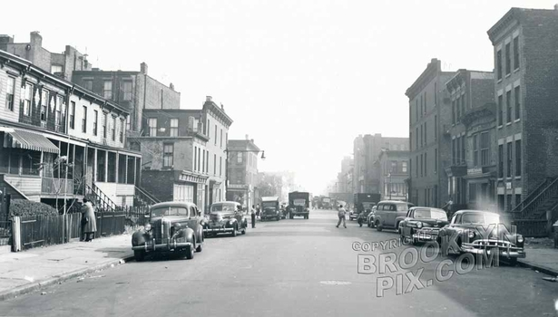 Lexington Avenue east to Marcy Avenue, 1952