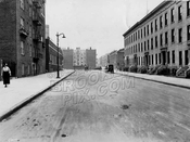 Lincoln Place looking west to Washington Avenue, 1924